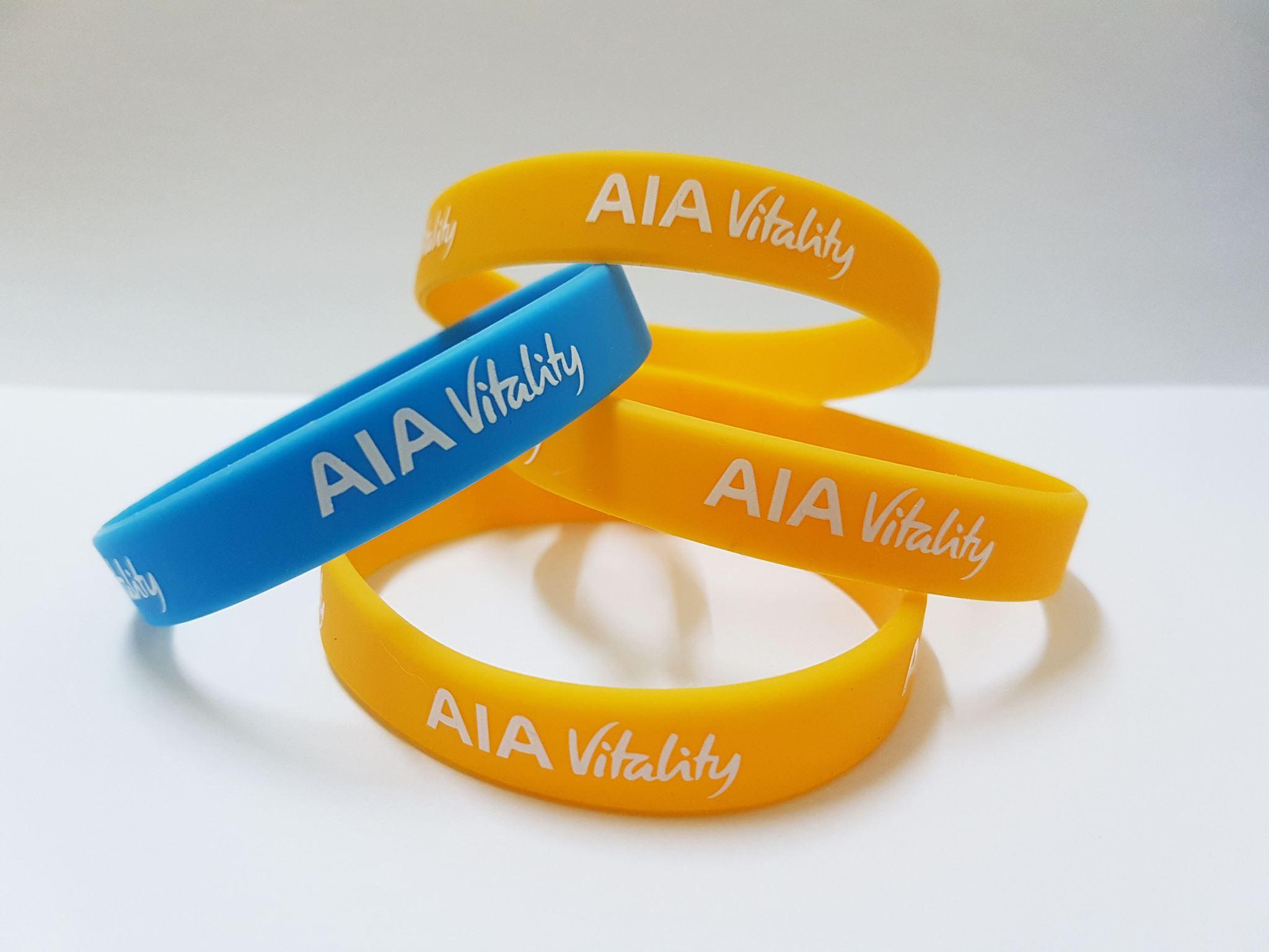 Custom Made Silicone Wristband Sample 1