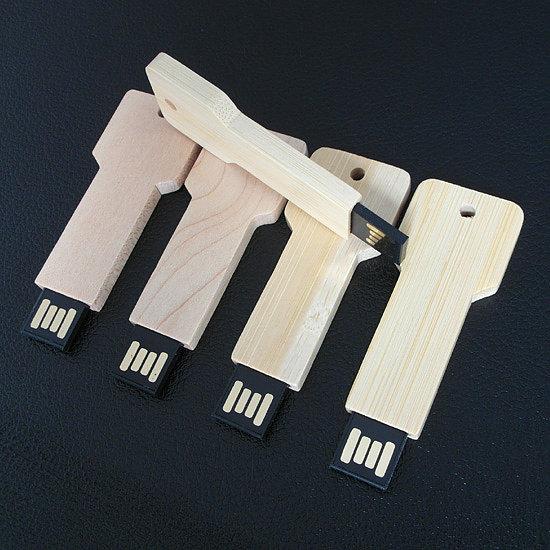 Wooden Key USB Flash Drive W381