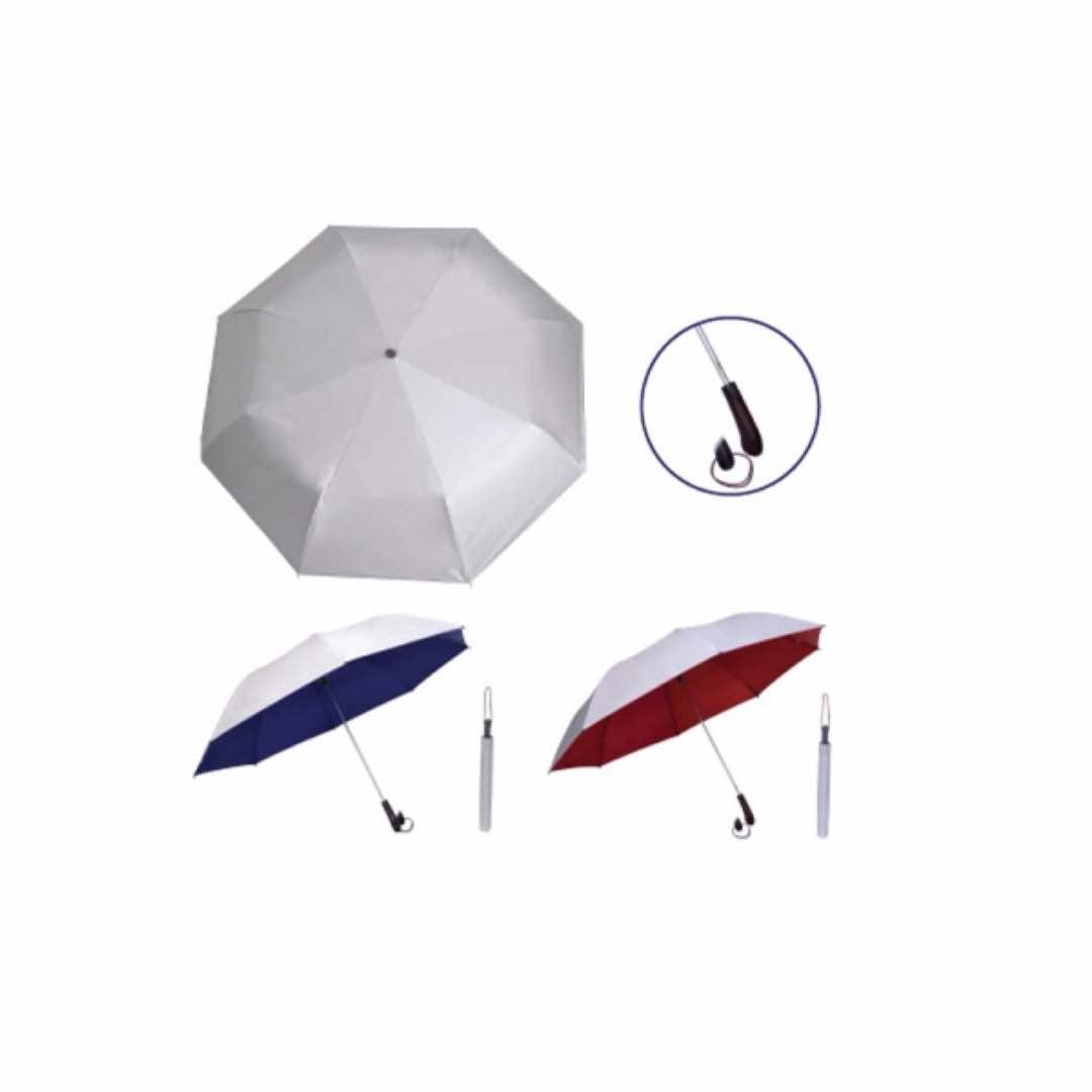 28inch Silver Coated Umbrella - Foldable
