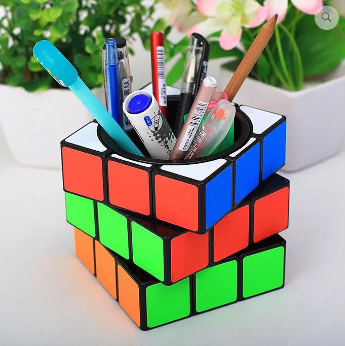 Magical Cube Pen Holder 2