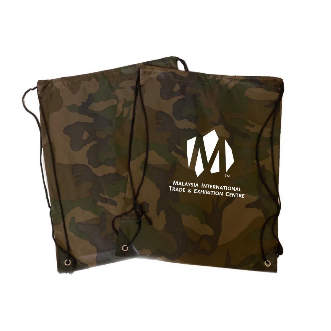 Army Print Drawstring Bag 5