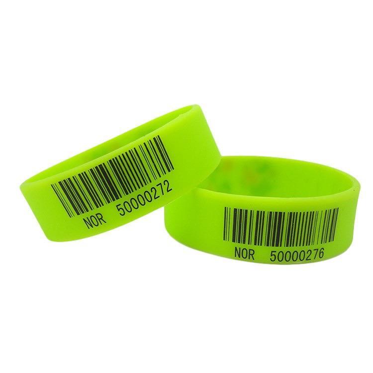 Barcode Silicone Wristband 1