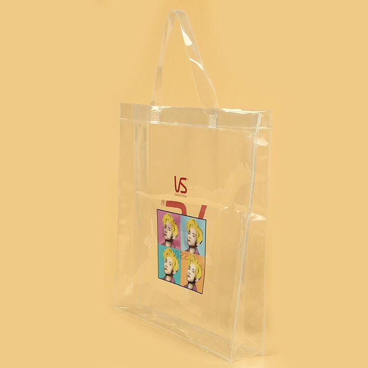Clear PVC Tote Bag 1