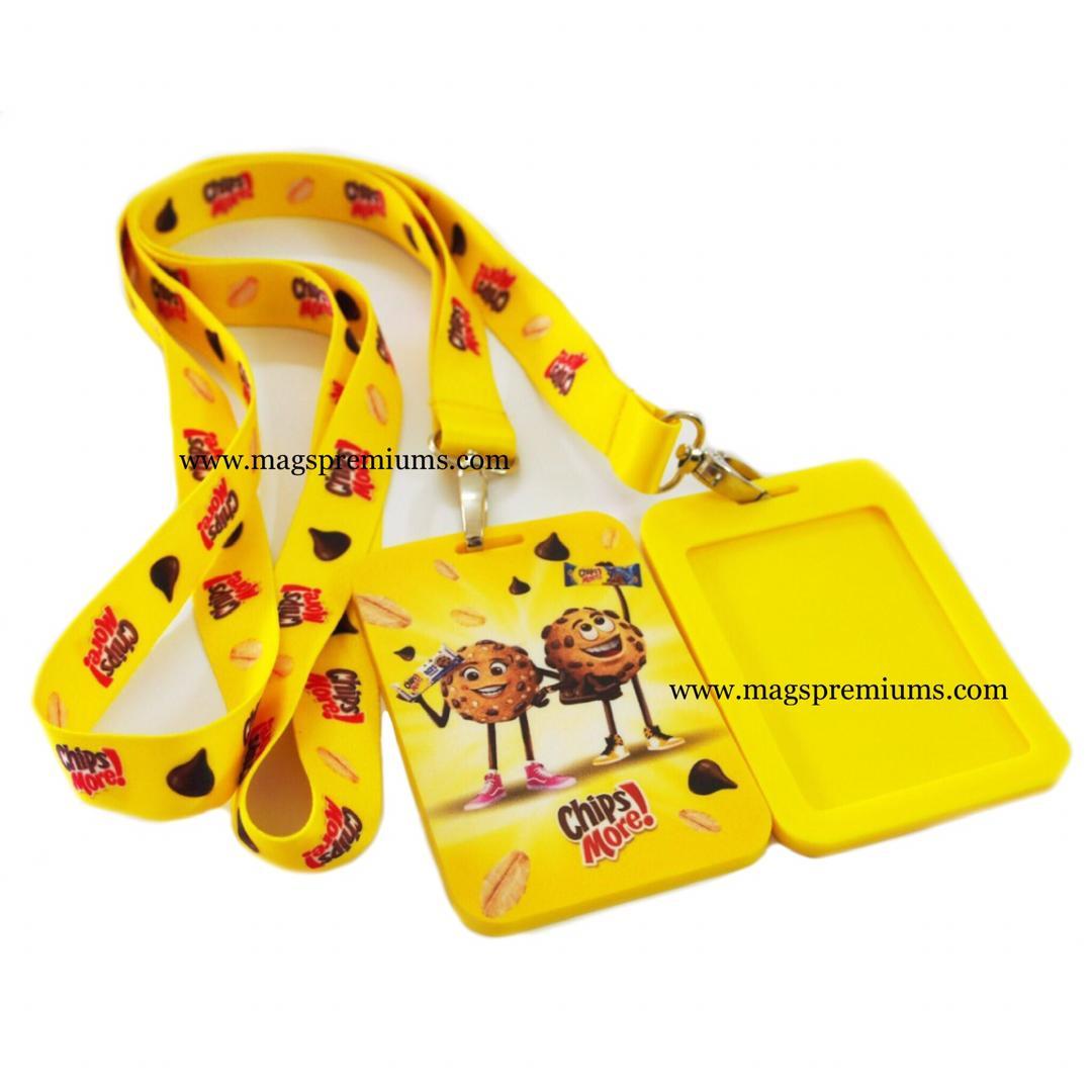 Lanyard with Custom PVC Card Holder