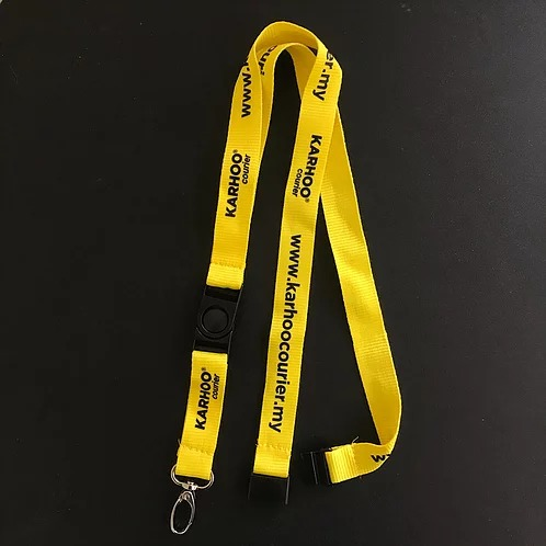 Polyester Lanyard attach multiples accessories