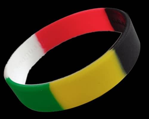 Swirl Color Wristband 1