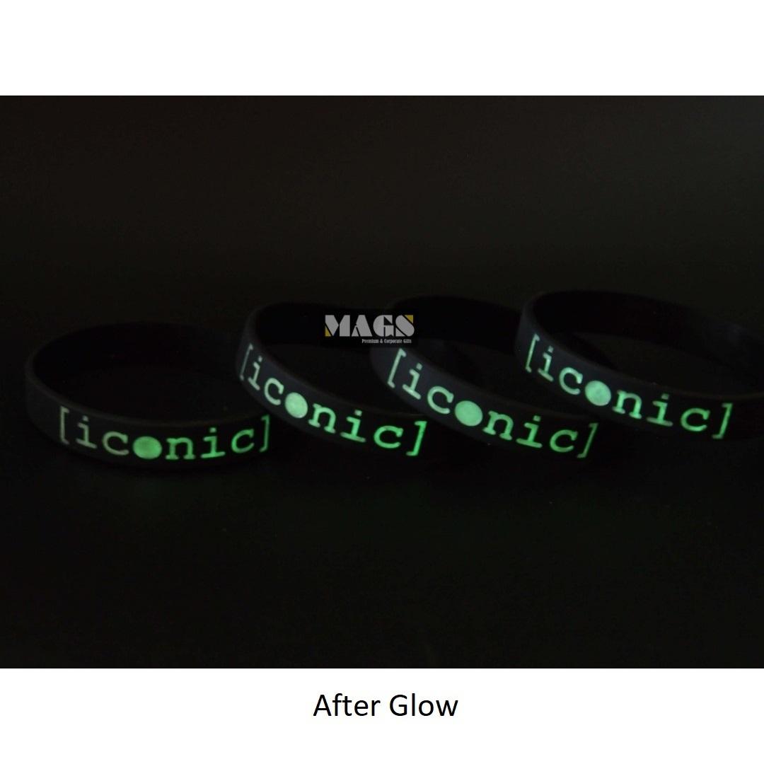 Text Glow In The Dark Wristband 1